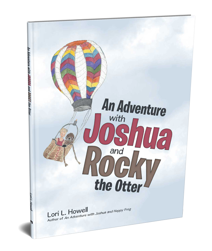 An Adventure With Joshua and Rocky the Otter - Book Cover