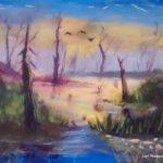 Morning Glory - acrylic painting by Lori Thompson