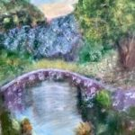 Mystical Pond painting by Lori Thompson