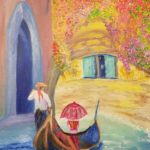 Venice Affair painting by Lori Thompson