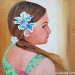 Hawaiian Girl painting by Lori Thompson