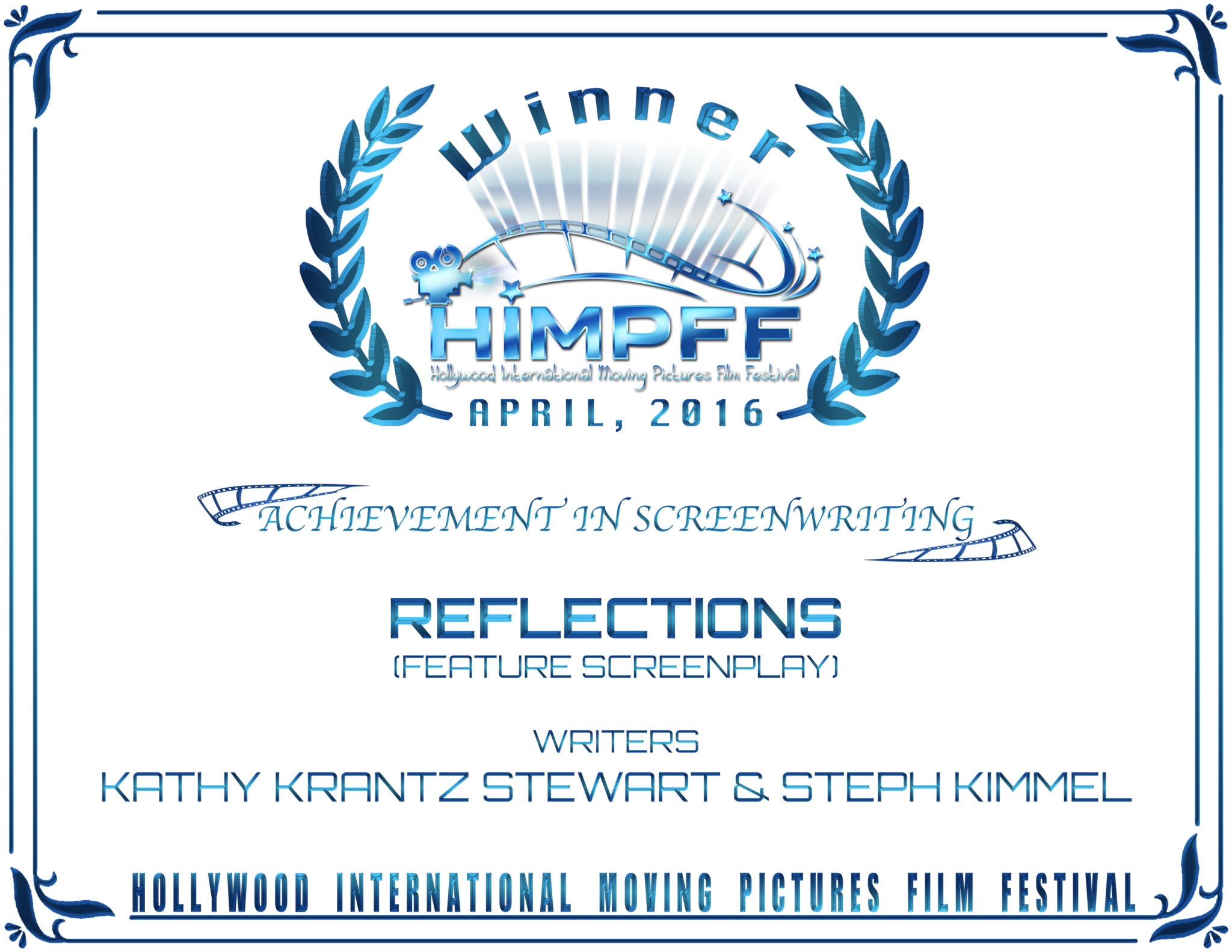HIMPFF Winner - Reflections - Lori Howell