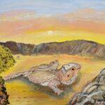 Pet Lizards painting