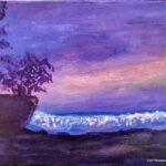 Carmel Cove - Acrylic painting by Lori Thompson